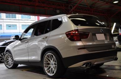 ギャラリー Bmw X3 ( F25 ) 35i |edge Forged Wheels