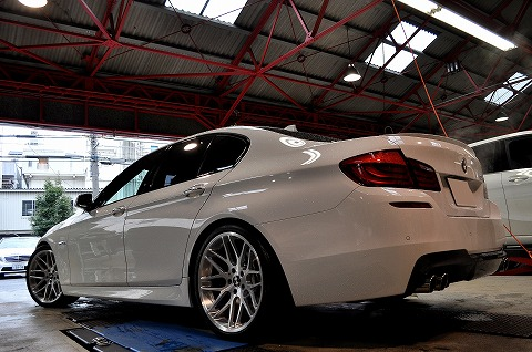 ギャラリー Bmw F10 528i |edge Forged Wheels
