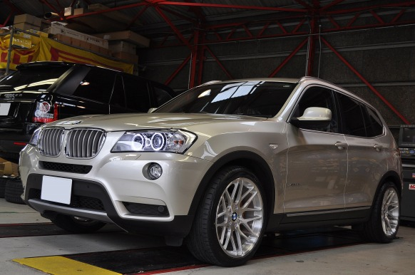 ギャラリー(BMW X3 ( F25 ) 35i)|EDGE FORGED WHEELS
