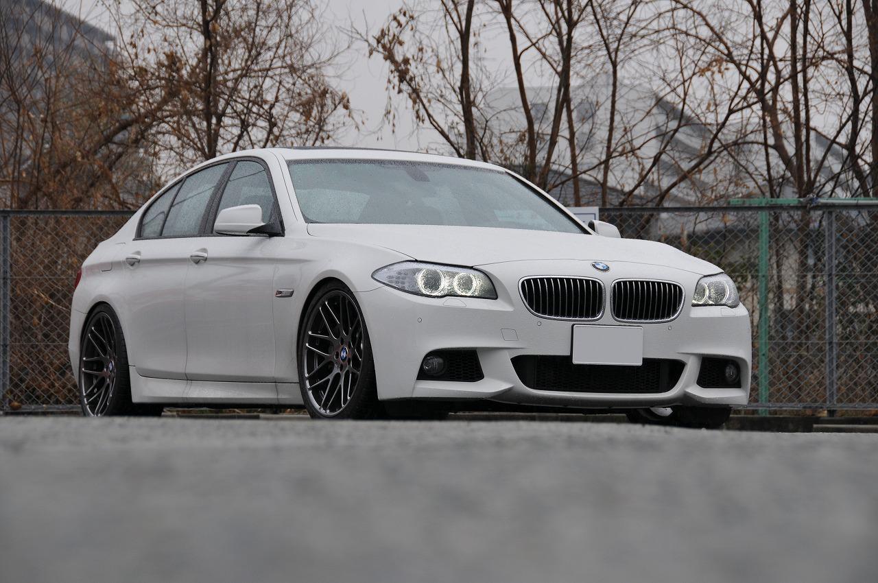 ギャラリー(BMW F10 535i)|EDGE FORGED WHEELS